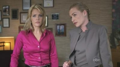 Andrea Anders and Portia de Rossi in Better Off Ted.