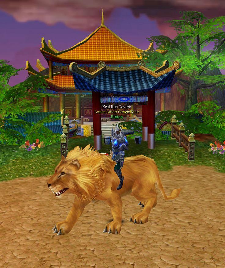 Aslan Kral - Seviye 30 #binek #mount #game #cengizhan2 #ch2 #oyun #mmorpg #joygame