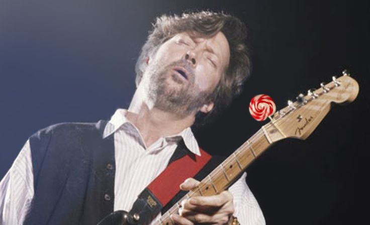 Dear Eric Clapton, you're sweet when you quit smoking.