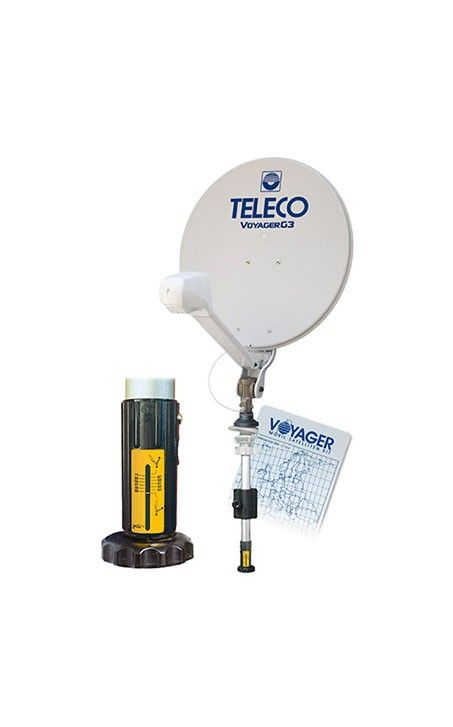 Gemakkelijk de schotelantenne inrichten op de #camping met de Teleco Voyager G3. Geen gedoe, snel tv en genieten !