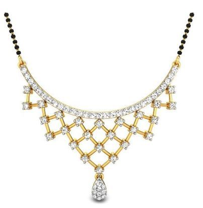 The Mystery of the Mangalsutra Wedding Jewelry. To read more visit at http://www.candere.com/jewellery/womens-diamond-mangalsutra.html