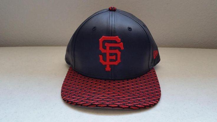 $10.95 San Francisco 49ers New Era 9Fifty Red & Black Baseball Cap Hat  One Size Adjus #9Fifty #BaseballCap