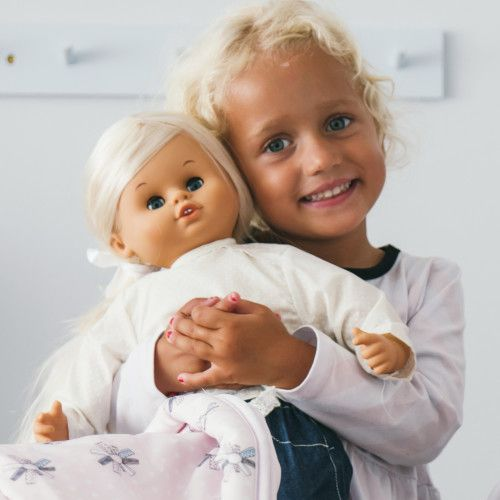 Our Skrallan range has now landed. Loved in Sweden since 1966, the 45 cm dolls speak 25 phrases in five languages and giggle. Soft to cuddle, lovely stylable hair and cute faces. Suitable for 3+