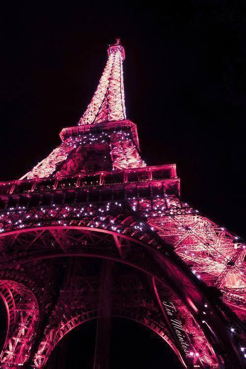 eiffel tower paris pink - photo #15