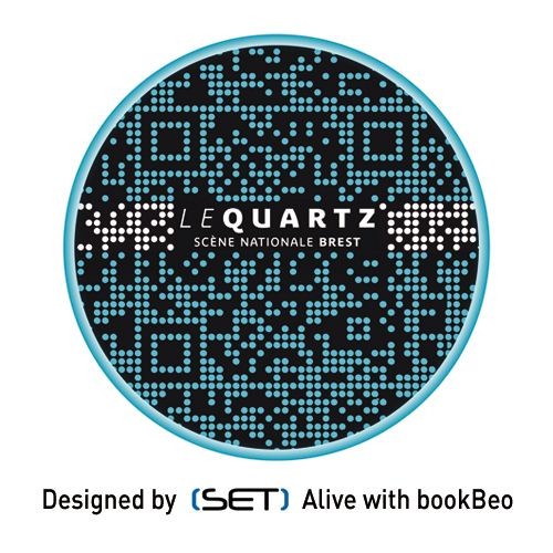 QR Code désigné par SET pour Le Quartz