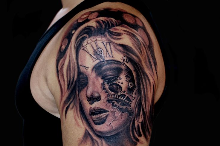 tattoo by john paul roldan from demon ink studios in