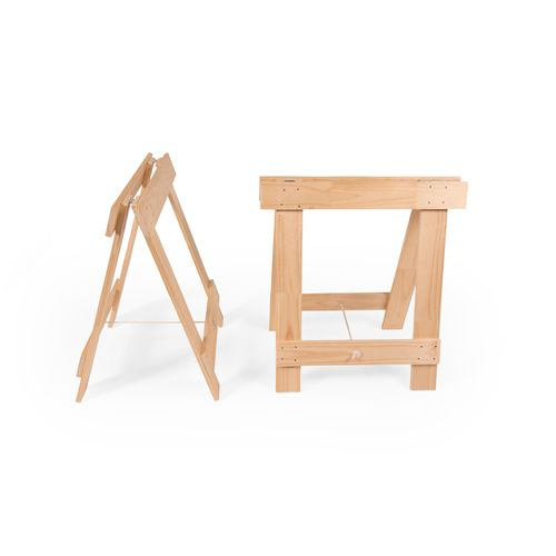 Smooth solid pine gives these trestles a more refined look, whilst maintaining strength and durability