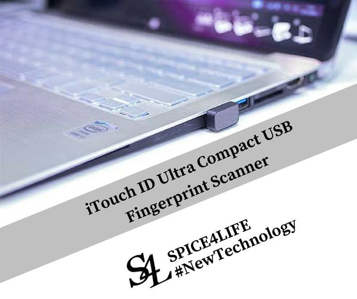 19 Mar, 2015 Fingerprint scanner is being widely used from desktop computers to mobile devices, while iTouch ID USB fingerprint scanner not only helps you improve privacy protection, but also delivers a sleek design that decently works with your MacBook or other laptops.   http://www.spice4life.co.za  #NewTechnology