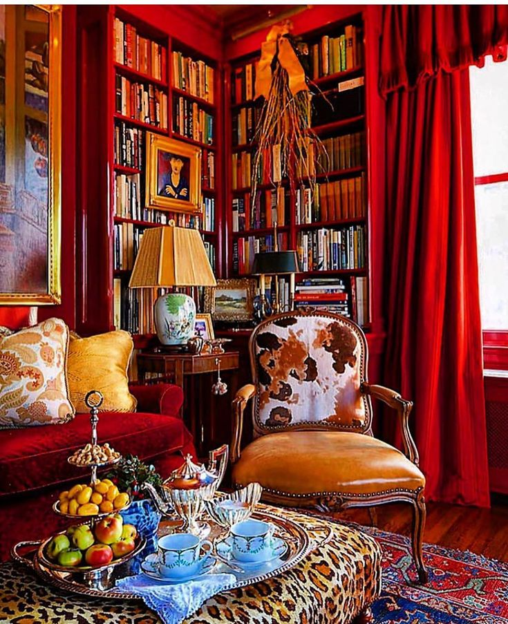 Home Librarydesign Ideas: SECRETS OF A HOSTESS On Instagram: Home Library