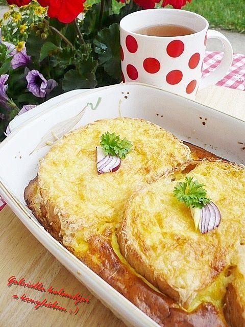 Gabriella kalandjai a konyhában :): Tepsis bundás kenyér