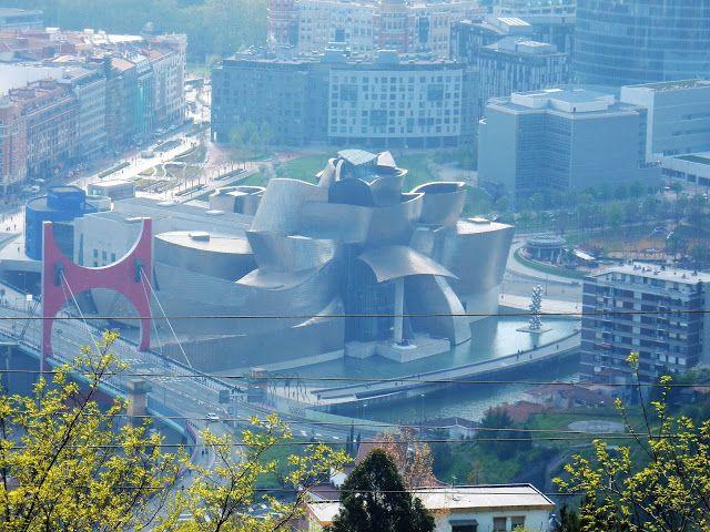 Guggenheim, Mirador Artxanda, Bilbao, España, Elisa N, Blog de Viajes, Lifestyle, Travel