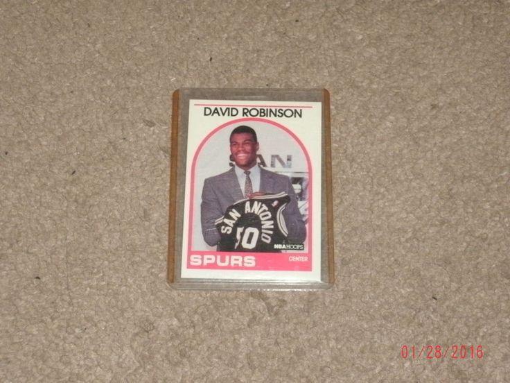 1989 nba hoops david robinson rookie card
