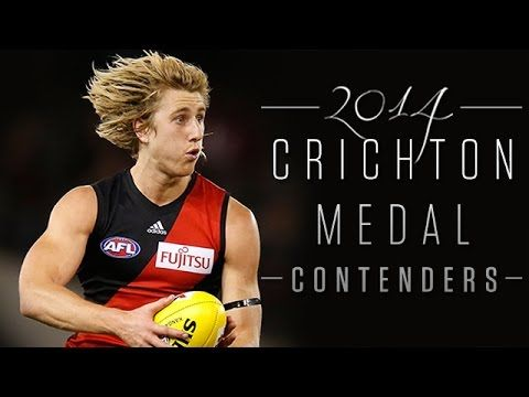A season to remember for Dyson Heppell. #CrichtonMedal