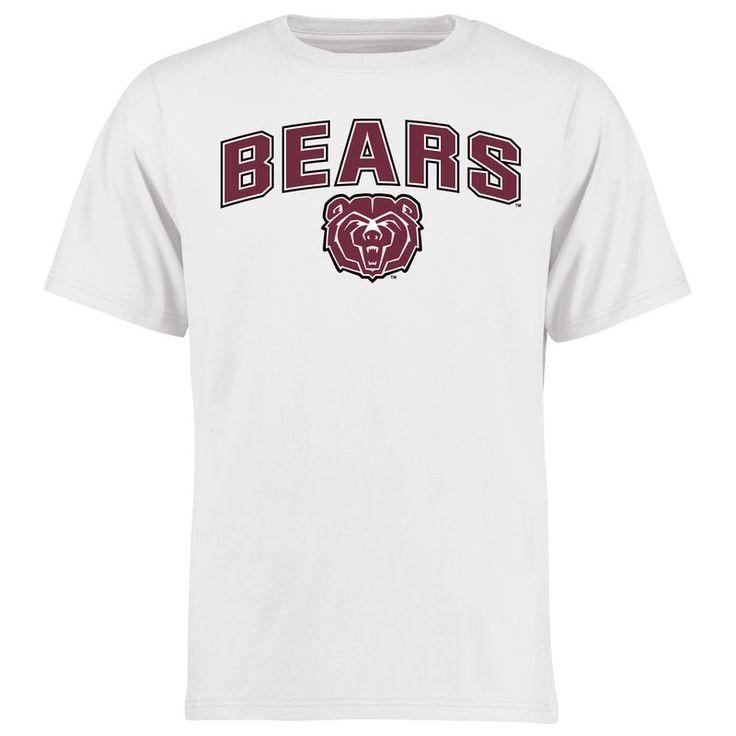 Missouri State University Bears Proud Mascot T-Shirt - White -