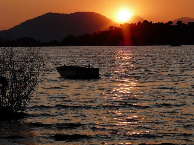 Bafa lake sunset #turkey