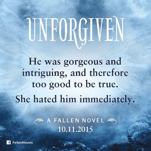 Fallen Angels Book Quotes: #boekperweek 113/53 Unforgiven (Fallen #5)
