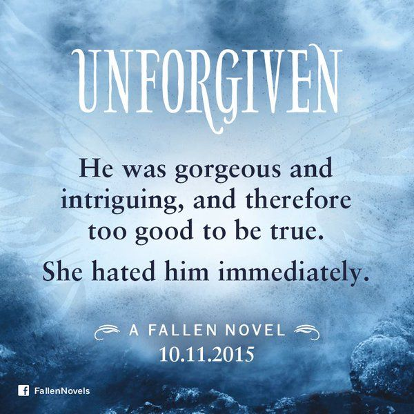 #boekperweek 113/53 Unforgiven (Fallen #5) - Lauren Kate