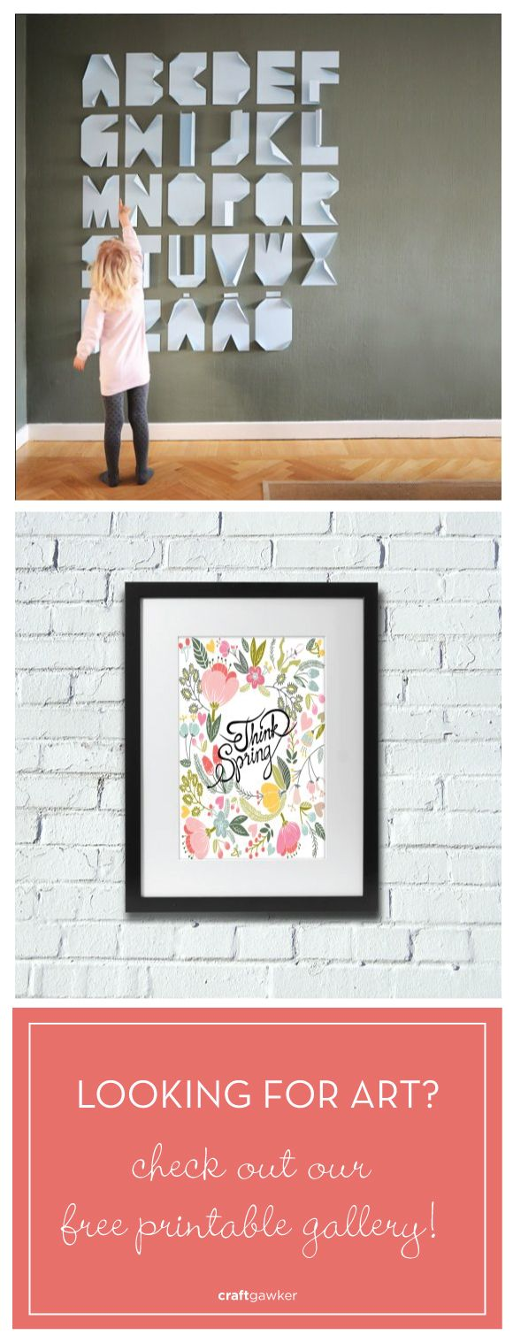 Our free printable art gallery has something for everyone!