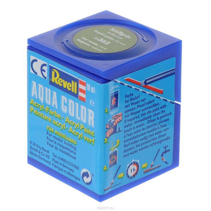 6362Краски для моделей Revell - это высококачественный материал для покраски ваших моделей. Данная краска служит для окрашивания пластиковых поверхностей сборных моделей Revell. В баночке содержится 18 мл шелково-матовой краски. В случае необходимости различные оттенки эмали могут быть смешаны друг с другом, для разбавления используется Revell Color Mix.