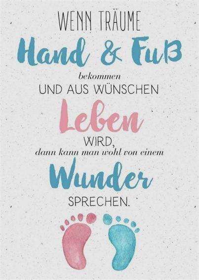 Verschickt süße Glückwünsche zur Geburt ♥ Wir haben die schönsten Sprüche als Text & als kostenlose Babygrußkarten zum Download & Verschicken…