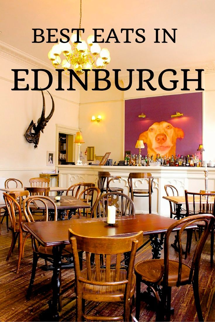 My Top 3 Places to Eat in Edinburgh (+food tour review)! Click through to read more on my travel blog :)
