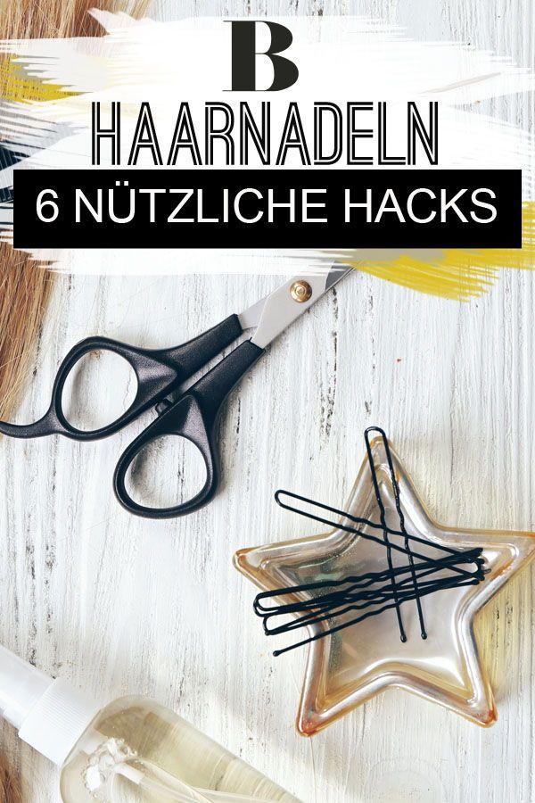 6 Nützliche Haarnadel Hacks Außer Haare Bändigen Beauty Pinterest