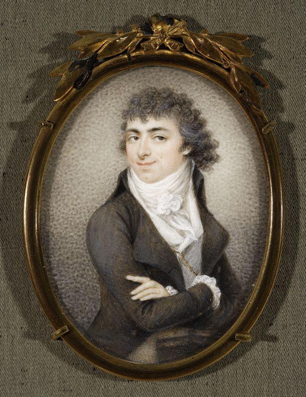 Kosiński, Józef (1753-1821) Self-portrait, 1796,   Warszawa, National Museum
