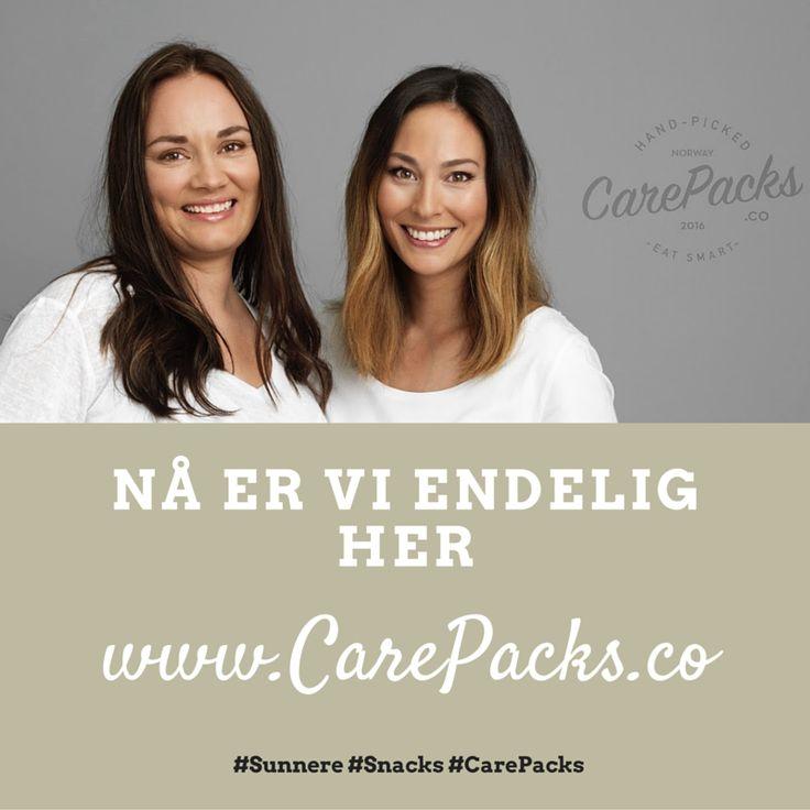 CarePacks.co - Nå er vi endelig her!