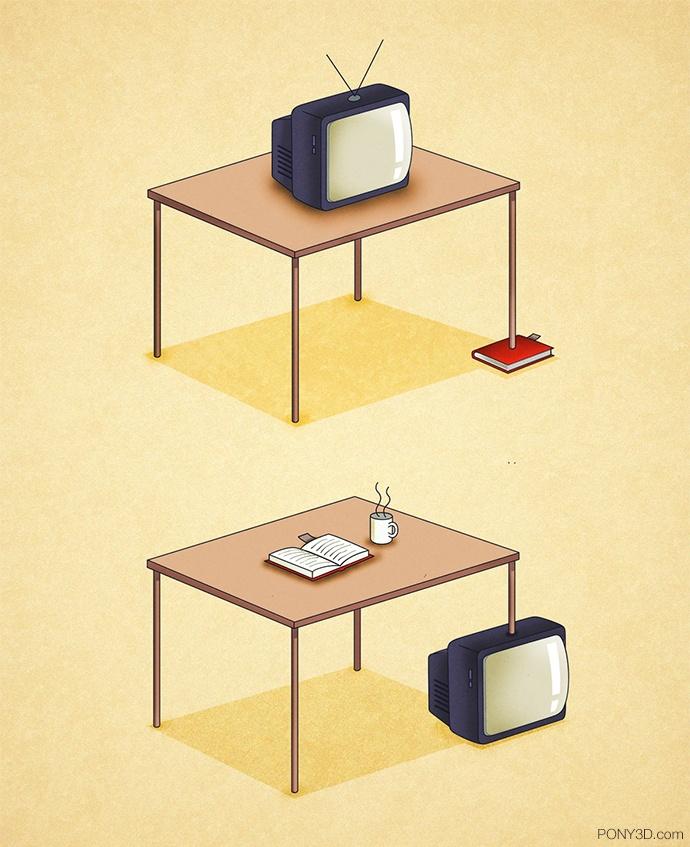 Pony3D – Libro vs. TV