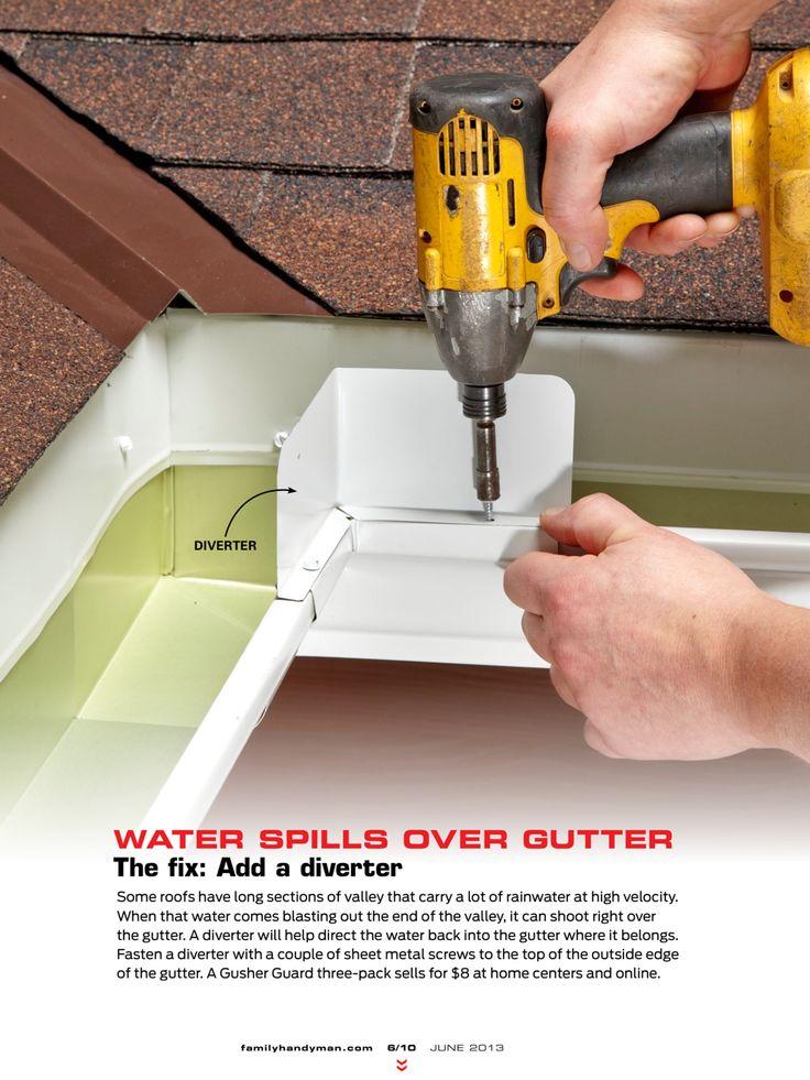 Gutter care - Handyman Magazine