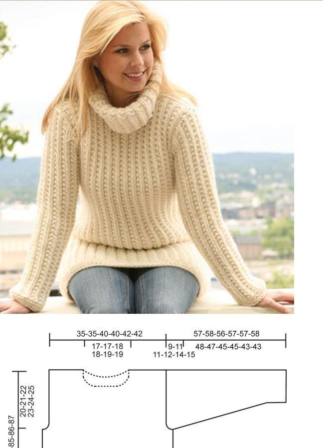 23 best Wonderful White images on Pinterest | Drops design, Knitting ...