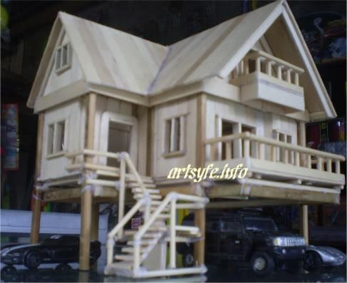 33 best images about popsicle stick house on pinterest - Things to know when building a house ...