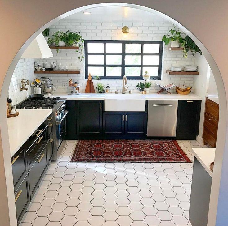 Kitchen Furniture Black Friday: 25+ Best Ideas About White Hexagonal Tile On Pinterest