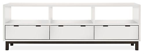 $1199 Copenhagen Media Cabinets - Modern Media Storage - Modern Living Room Furniture - Room & Board