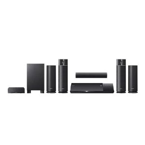 Dynamic, vibrant sound needs its freedom. With that in mind, this sleek, fully integrated Blu-ray Disc Home Theater system features wireless rear surround sound...