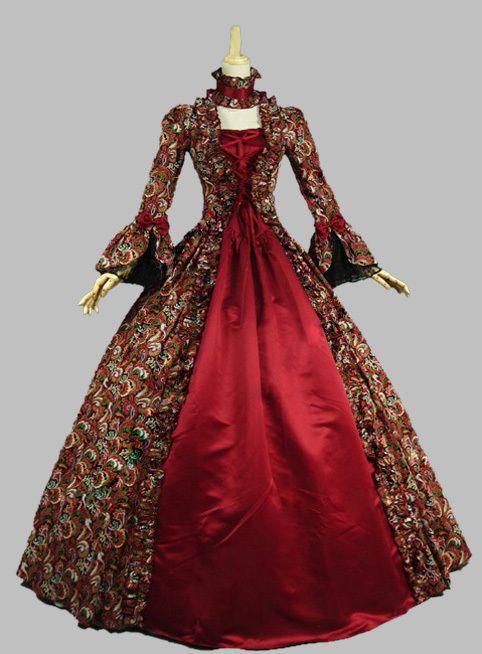 91 Best Gothic Victorian Dresses Images On Pinterest