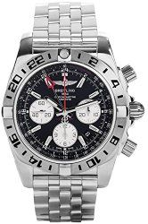 Breitling Men's AB0420B9/BB56 Analog Display Automatic Self Wind Silver Watch
