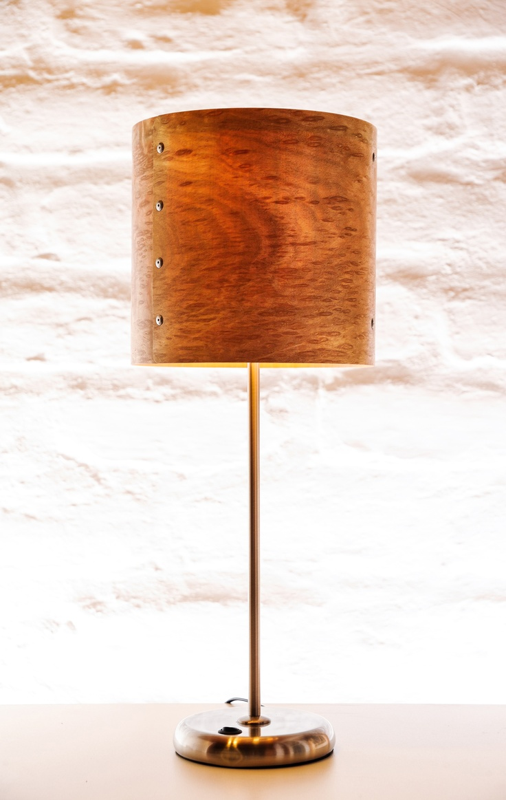 eucalyptus burl shade light on - Lamp Shades For Table Lamps