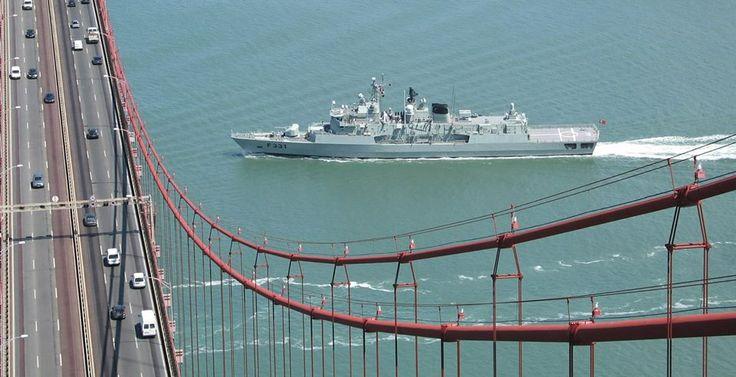 """Portuguese Navy """"NRP Álvares Cabral""""."""