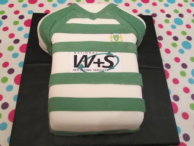 Matt's 15th Birthday Yeovil Town FC Cake