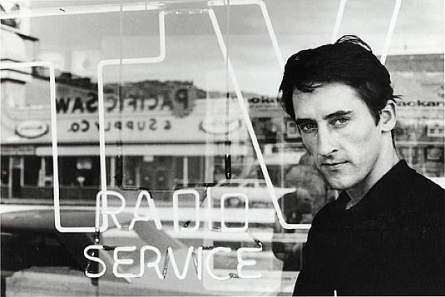 Ed Ruscha, 1964 © Dennis Hopper.  Well, I was a compulsive creator, so it became my creative outlet. I was using Tri-X film — which nobody else was using at the time — because I wanted to get as much natural light as possible and be able to shoot everything in natural light without flashes. I was a product of the movie business … -Dennis Hopper