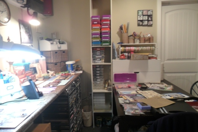 Oliver's Scrapbooking Space