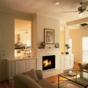 Double sided Jetmaster fireplace - heat two rooms simultaneously