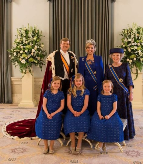 Dutch Royal family official photo 4/30/2013