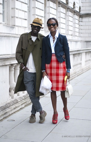 Jenke-Ahmed Tailly & Shala Monroque by Michelle Bobb-Parris