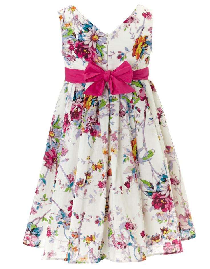 Daisy Print Dress Monsoon ss13
