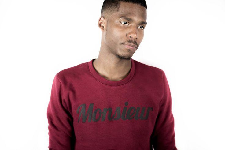 monsieur sweatshirt - backstage clothing clth. fashion