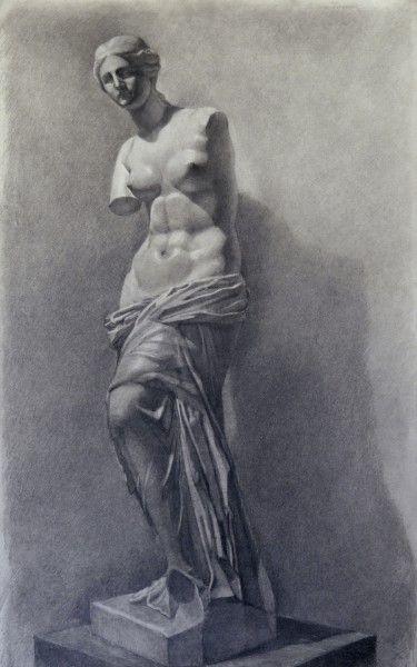 венера милосская рисунок - Поиск в Google