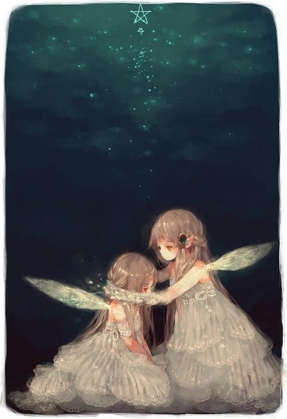Fairy sisters by unknown artist