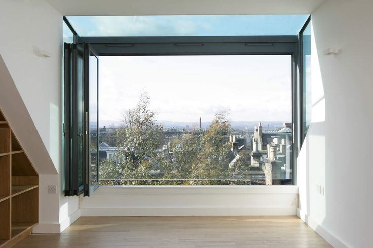 Helen Lucas Architects Edinburgh | project | hartington attic conversion edinburgh | living spaces